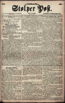 Stolper Post Nr. 67/1901