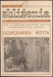 Zbliżenia : tygodnik społeczno-polityczny, 1980, nr 23