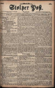 Stolper Post Nr. 68/1901