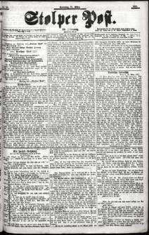 Stolper Post Nr. 76/1901