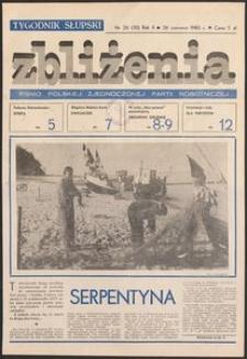 Zbliżenia : tygodnik społeczno-polityczny, 1980, nr 26