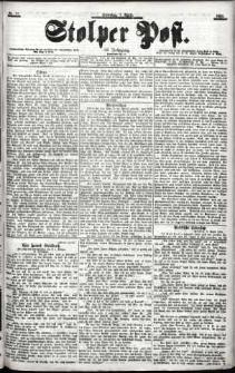 Stolper Post Nr. 81/1901