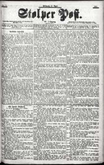 Stolper Post Nr. 82/1901