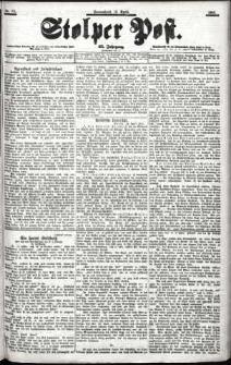 Stolper Post Nr. 85/1901