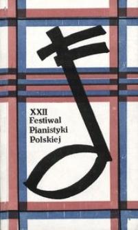 Festiwal Pianistyki Polskiej (22 ; 1988 ; Słupsk)