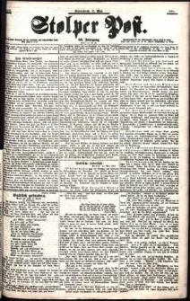 Stolper Post Nr. 109/1901