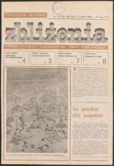 Zbliżenia : tygodnik społeczno-polityczny, 1980, nr 32