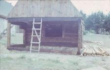 Odbudowa chlewa zrębowego z początku XIX wieku z Górek - Wdzydze KPE