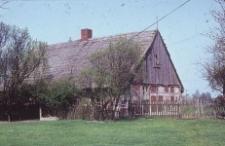 Szkieletowa chałupa osadnika niemieckiego z XIX wieku - Zawada