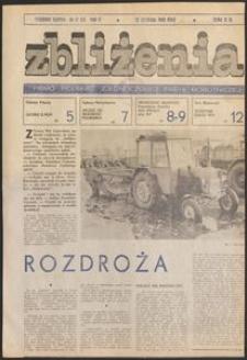 Zbliżenia : tygodnik społeczno-polityczny, 1980, nr 47