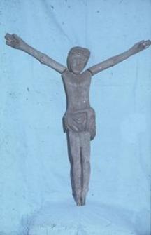 Rzeźba z krzyża. Chrystus - Gołczewo [1]