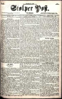 Stolper Post Nr. 138/1901