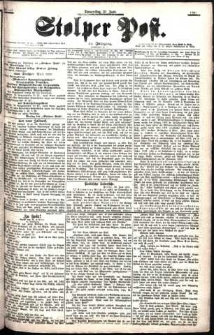 Stolper Post Nr. 147/1901
