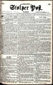 Stolper Post Nr. 178/1901