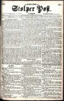 Stolper Post Nr. 181/1901