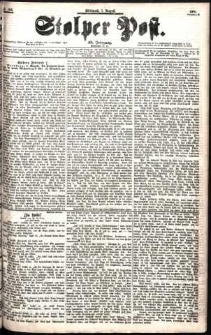 Stolper Post Nr. 182/1901