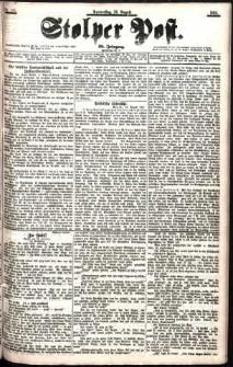 Stolper Post Nr. 195/1901
