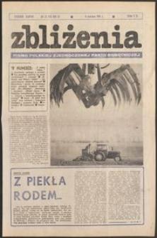 Zbliżenia : tygodnik społeczno-polityczny, 1981, nr 23