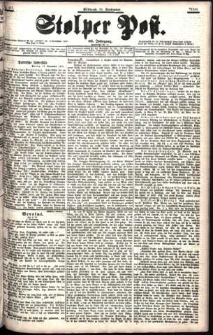 Stolper Post Nr. 218/1901