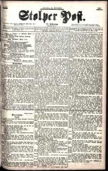 Stolper Post Nr. 222/1901