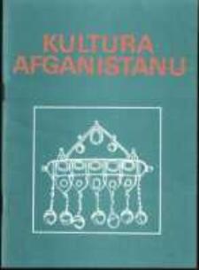 Kultura Afganistanu