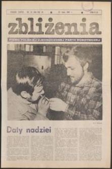 Zbliżenia : tygodnik społeczno-polityczny, 1981, nr 30