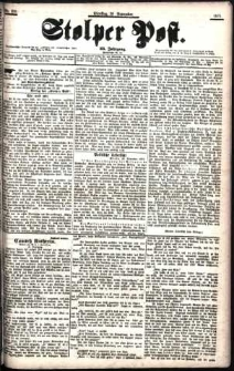 Stolper Post Nr. 276/1901