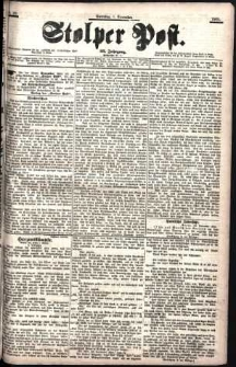 Stolper Post Nr. 281/1901
