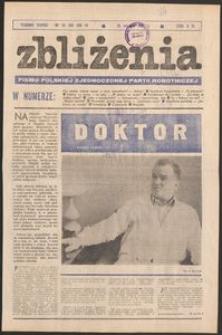Zbliżenia : tygodnik społeczno-polityczny, 1981, nr 34