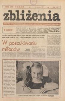 Zbliżenia : tygodnik społeczno-polityczny, 1981, nr 37