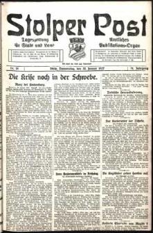 Stolper Post. Tageszeitung für Stadt und Land Nr. 16/1927