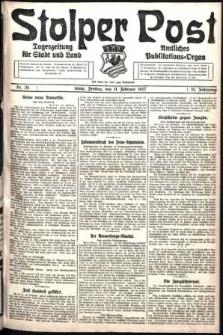 Stolper Post. Tageszeitung für Stadt und Land Nr. 35/1927
