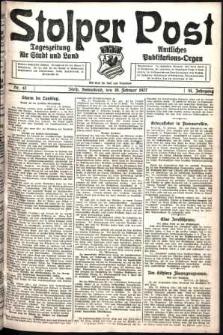 Stolper Post. Tageszeitung für Stadt und Land Nr. 42/1927