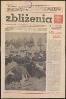 Zbliżenia : tygodnik społeczno-polityczny, 1981, nr 40