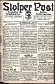 Stolper Post. Tageszeitung für Stadt und Land Nr. 52/1927