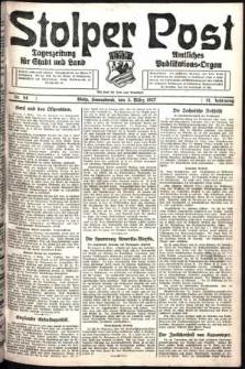 Stolper Post. Tageszeitung für Stadt und Land Nr. 54/1927