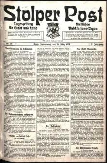 Stolper Post. Tageszeitung für Stadt und Land Nr. 76/1927