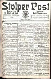 Stolper Post. Tageszeitung für Stadt und Land Nr. 83/1927