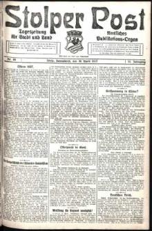 Stolper Post. Tageszeitung für Stadt und Land Nr. 89/1927