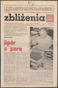 Zbliżenia : tygodnik społeczno-polityczny, 1981, nr 45