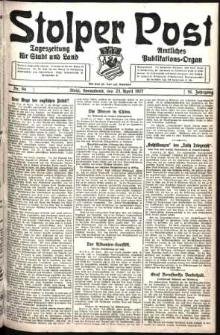 Stolper Post. Tageszeitung für Stadt und Land Nr. 94/1927