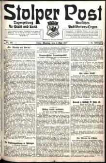 Stolper Post. Tageszeitung für Stadt und Land Nr. 101/1927