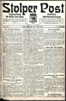Stolper Post. Tageszeitung für Stadt und Land Nr. 103/1927