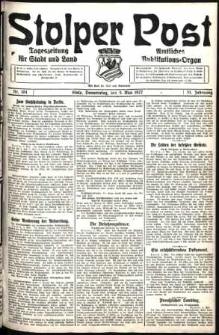Stolper Post. Tageszeitung für Stadt und Land Nr. 104/1927
