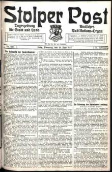 Stolper Post. Tageszeitung für Stadt und Land Nr. 108/1927