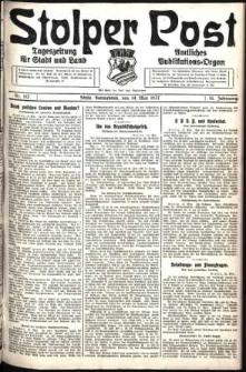 Stolper Post. Tageszeitung für Stadt und Land Nr. 112/1927