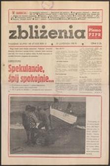 Zbliżenia : tygodnik społeczno-polityczny, 1981, nr 47