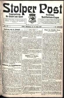 Stolper Post. Tageszeitung für Stadt und Land Nr. 115/1927
