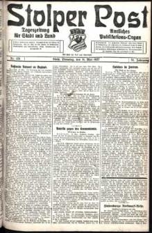 Stolper Post. Tageszeitung für Stadt und Land Nr. 125/1927