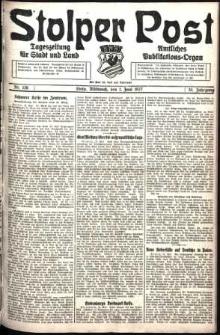 Stolper Post. Tageszeitung für Stadt und Land Nr. 126/1927